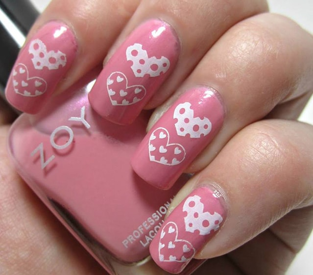 2-25 Romantic Heart Nails Designs