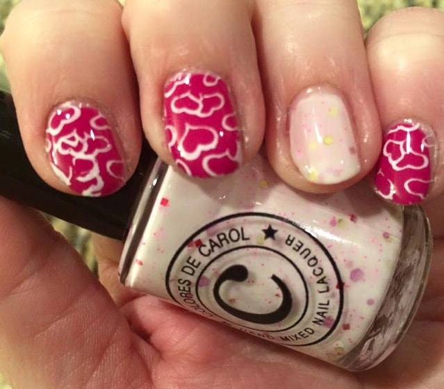 8-25 Romantic Heart Nails Designs
