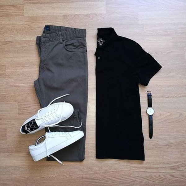 Top Black Outfits combination For Real Men 11