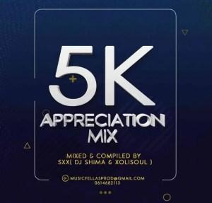 DJ Shima & Xolisoul – 5k Appreciation Mix Download Mp3