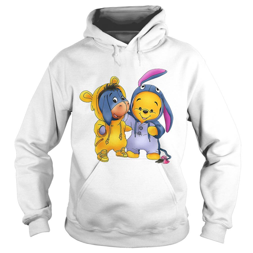Baby Pooh And Eeyore Winnie The Pooh Shirt Trending Tee Shirt