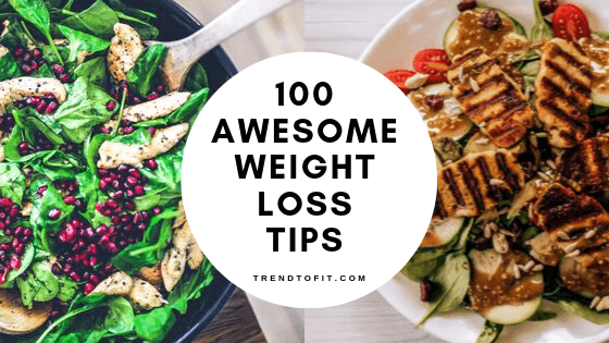 100 healthy lifestyle habits to lose weight fast