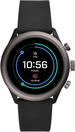 Fossil Sport 43 mm Black is one of the best mid range smartwatches for men