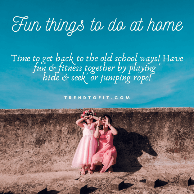 have fun and fitness together: fun activities