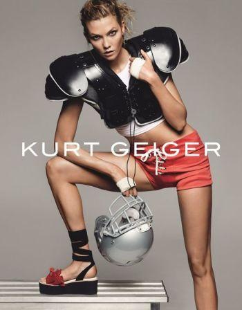 Karlie Kloss for Kurt Geiger SS16