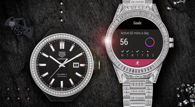 cd14ac86f82 Tag Heuer apresenta relógio inteligente com 600 diamantes