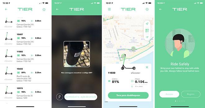 Tier Lisboa App