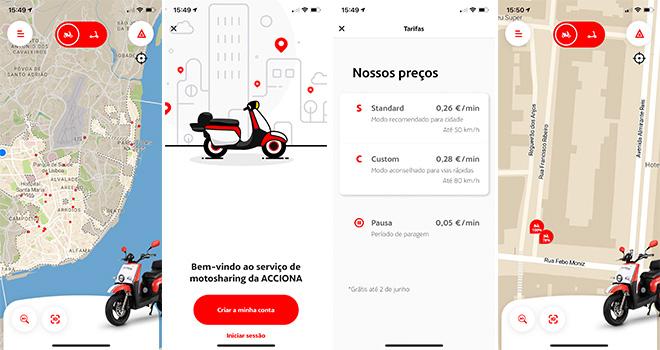 App Acciona - Lisboa