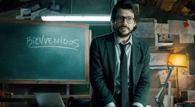 Professor Casa de Papel 3
