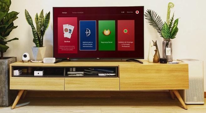 Vodafone App Serviços Públicos