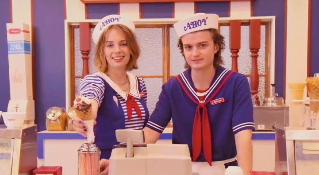 Scoops Ahoy Stranger Things