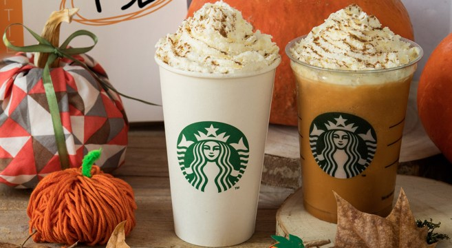Pumpkin Spice Latte - Starbucks