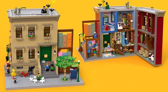 Rua Sésamo LEGO Ideas