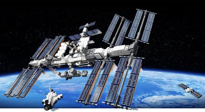 International Space Station ©LEGO