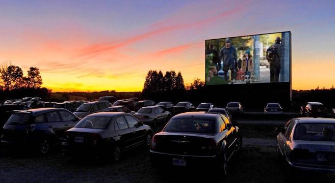 Comic Con Cinema Drive-In ©Ozark Outlook Retreat