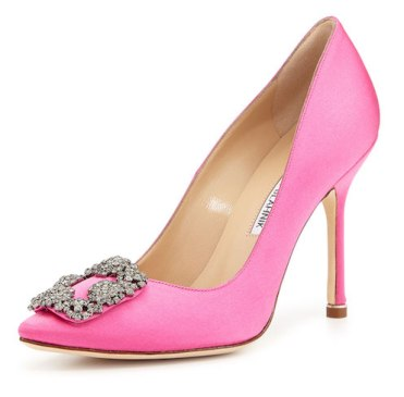 2 pink manolo