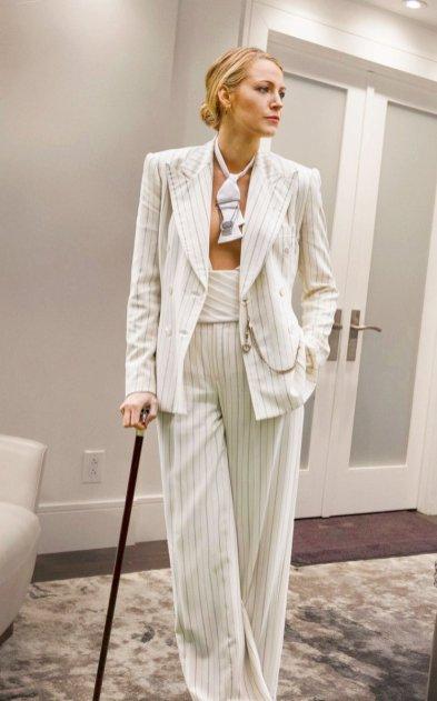 blake white suit cane
