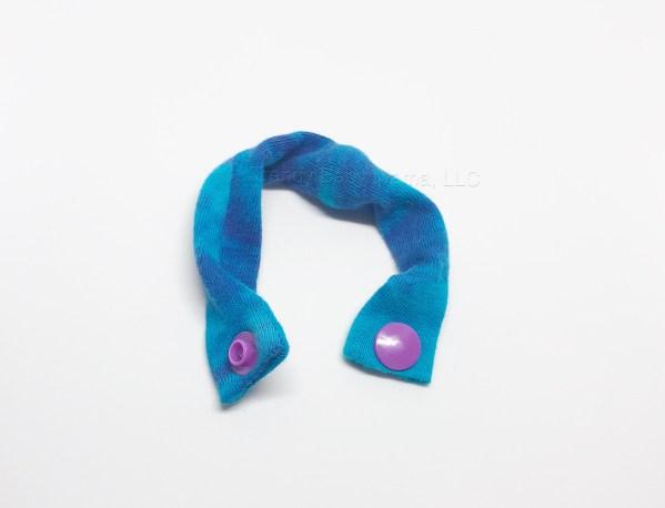 tie dye marble fidget bracelet