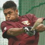 オコエ瑠偉プロ初盗塁二塁ベースのオークション落札価格はいくら?楽天で出品!