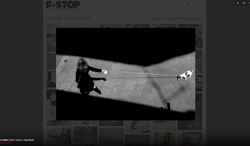 F-STOP magazine décembre 2017 – Issue #86 – Street Photography