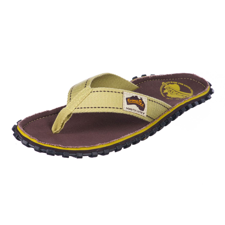 Gumbies Islander Mens Sandals Vintage Brown esmocc53