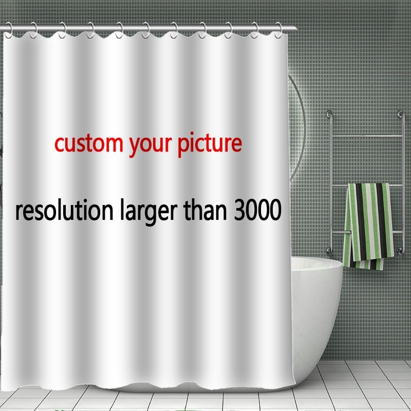 custom shower curtain your personalized print on shower curtain