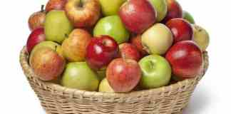 how many calories are in apples