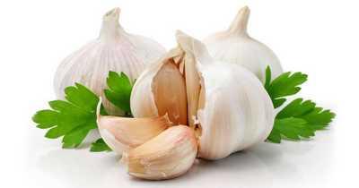 garlic to treat pimples