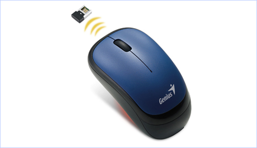 Genius Wireless Optical Mouse Traveler 6000