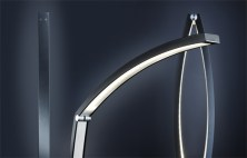 Ciconia: LED light Sculpture by idee.design.licht.