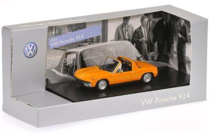 6-VW-Porsche 914, fluorescent orange, (1969)