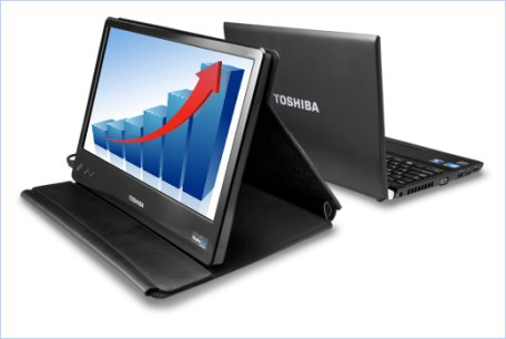 Toshiba's 14-inch USB-powered Mobile LCD Monitor