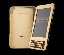 The World First 24ct Gold Kindle