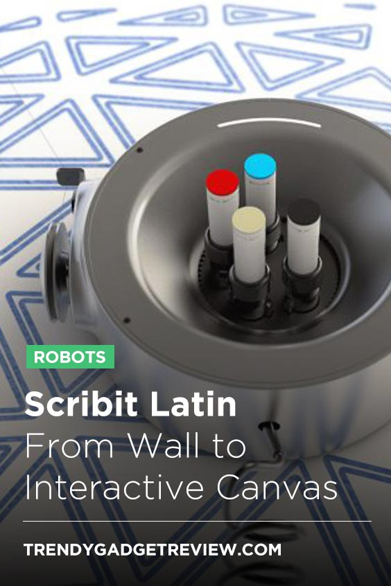 Scribit Latin: From Wall to Interactive Canvas   Trendy