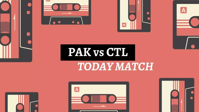 PAK vs CTL Match Today