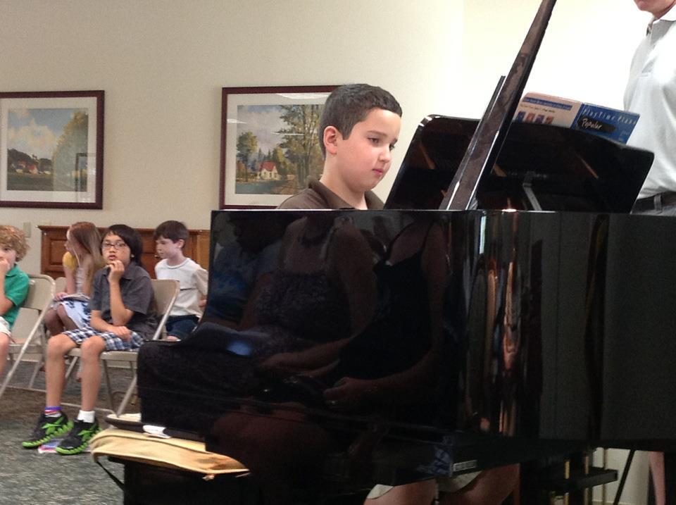 Lu in piano