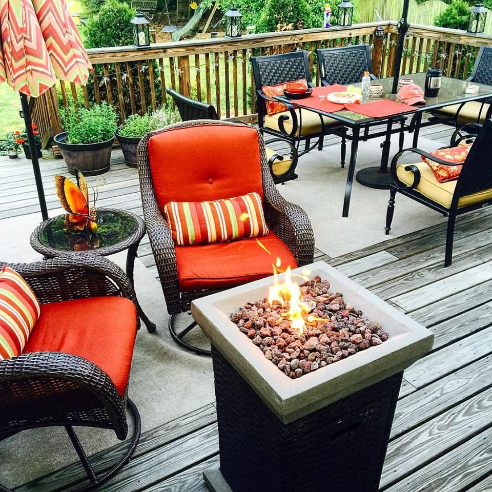 deck furniture upgrade