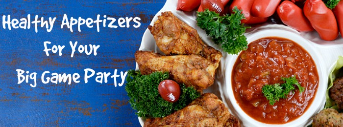 Big game party healthy appetizer