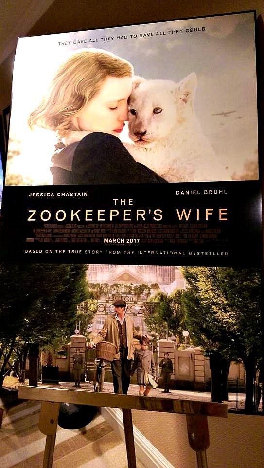 zookeepers wife poster