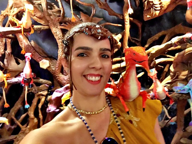 Claudia at Disney World Pandora Park