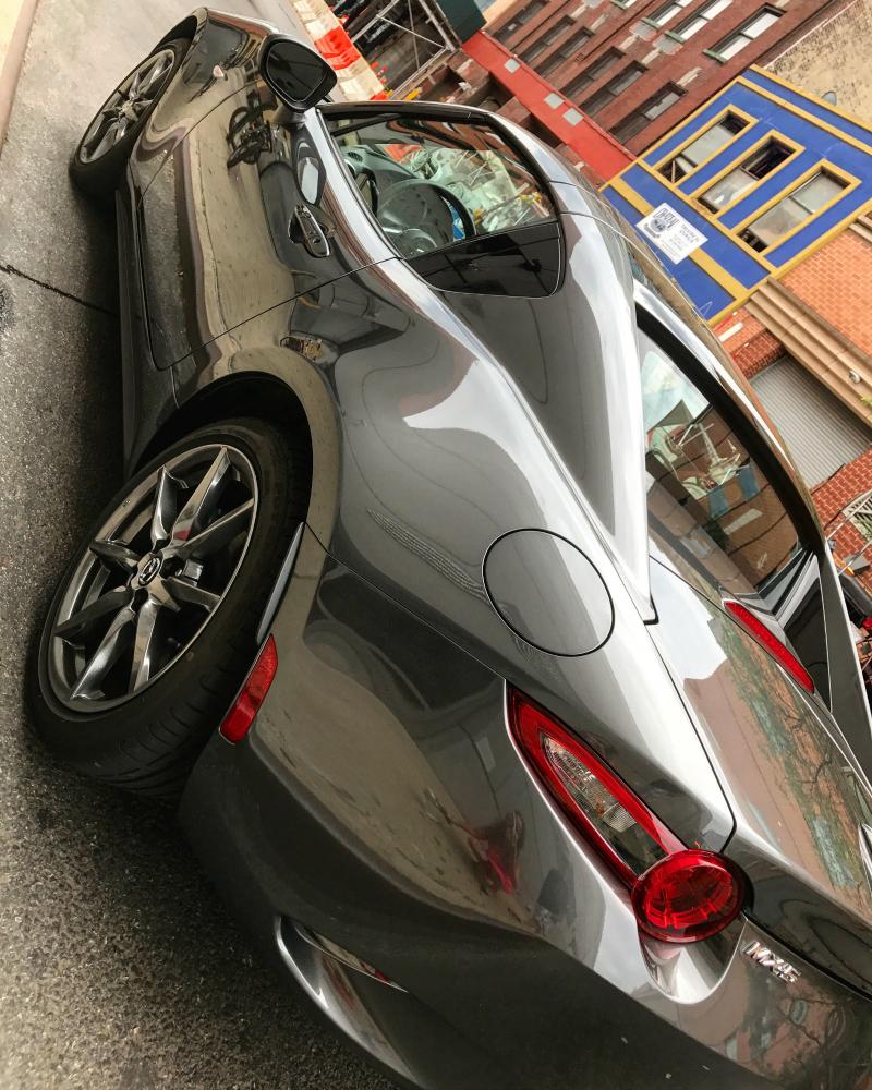 Mazda MX5 RF in NYC