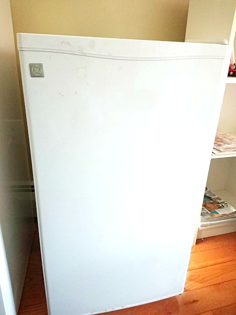 Fridge for small home gym