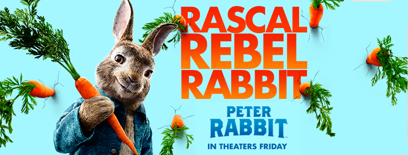 Peter Rabbit in theaters