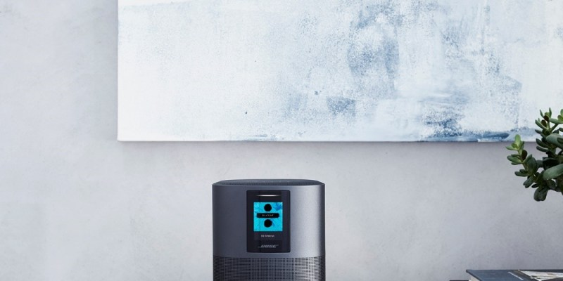 Bose smart speakers