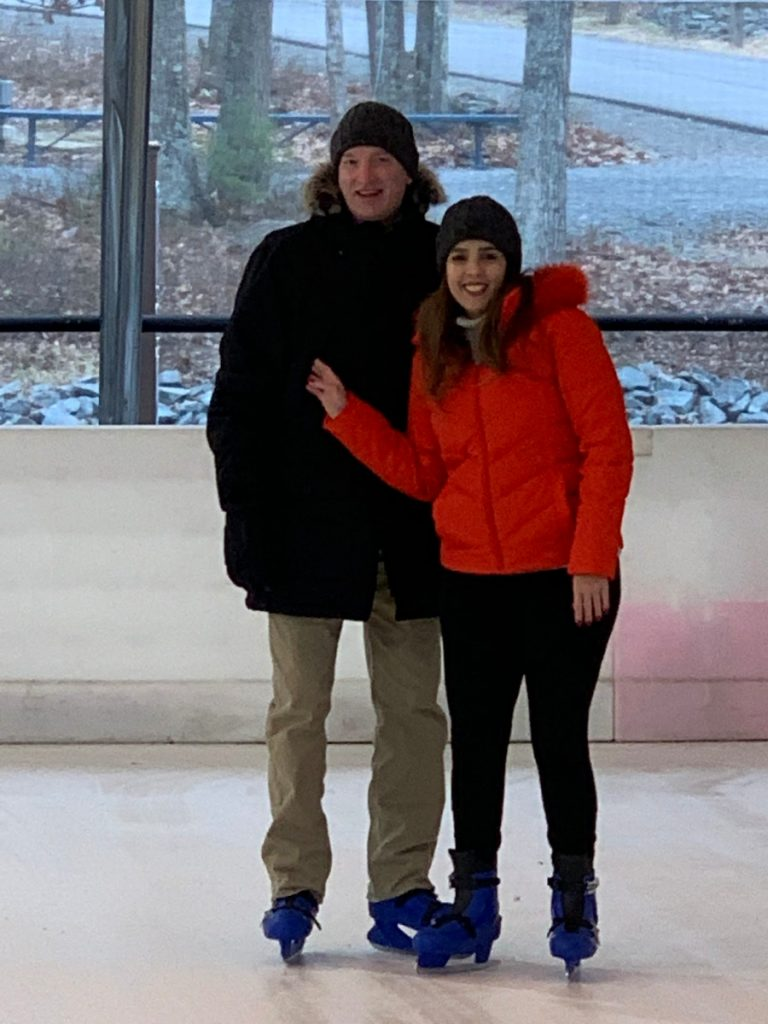 Ice Skating in the poconos