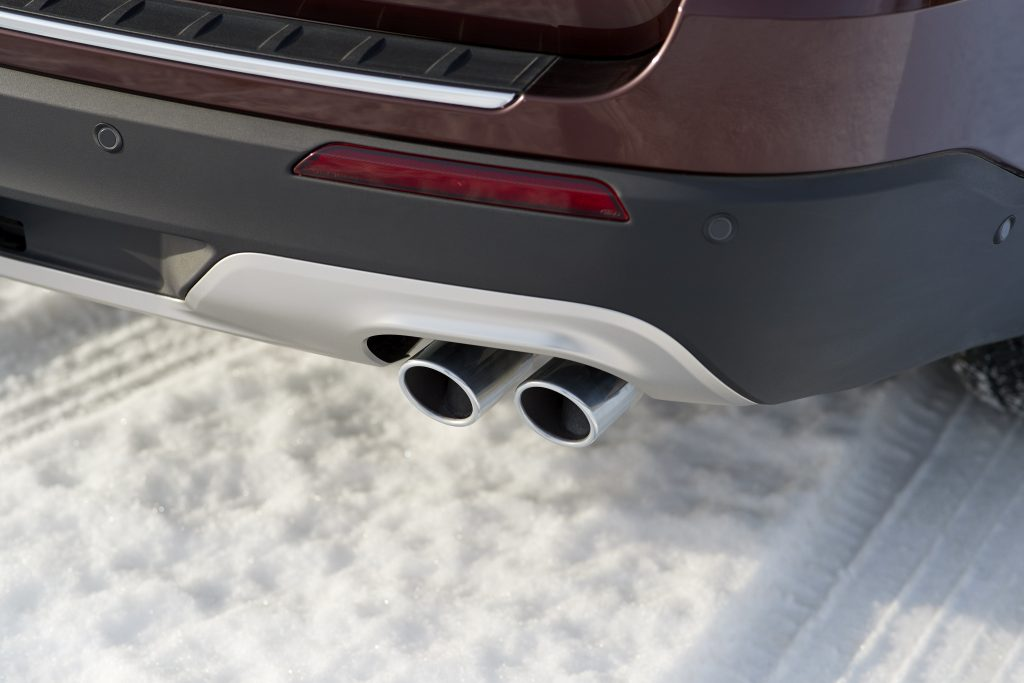Exhaust on 20209 Ford Explorer