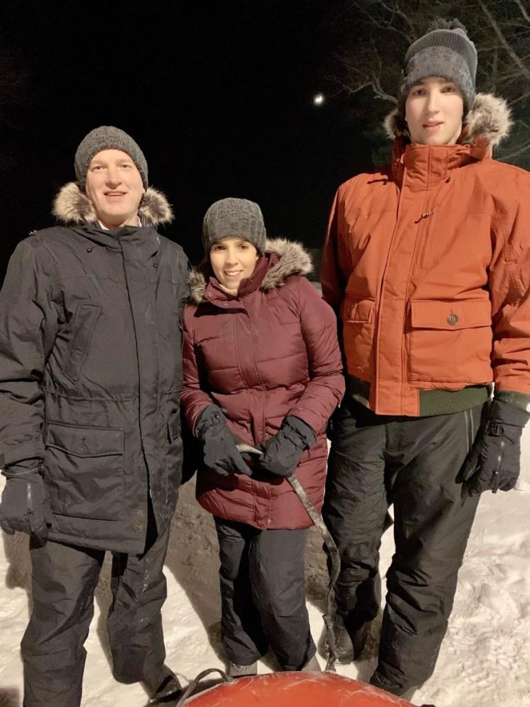 Snow Tubing at Woodloch Resort