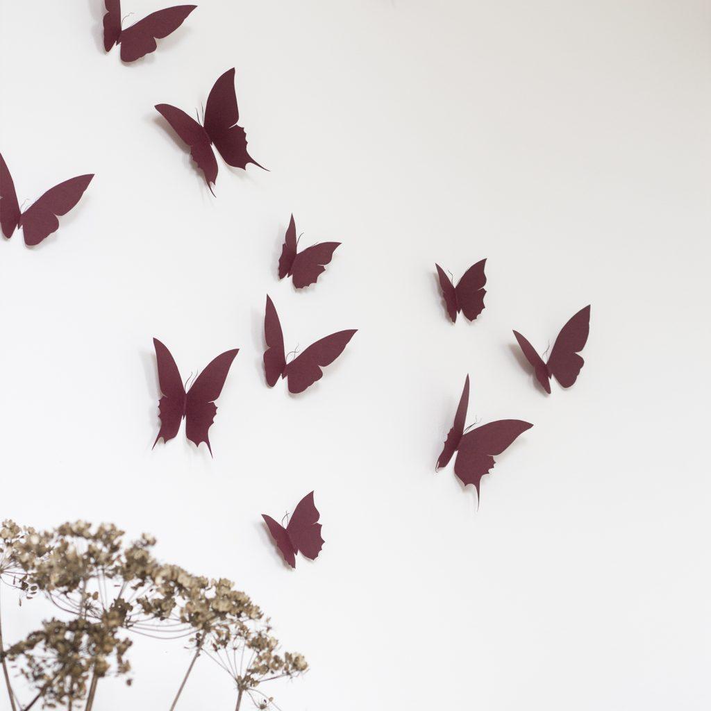 deco murale envolee de papillons