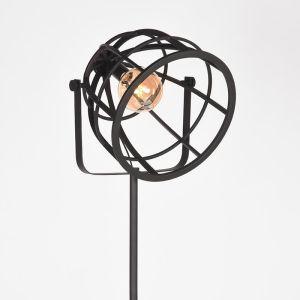 Vloerlamp Fuse Zwart Metaal 55x55x135 170 cm Detail