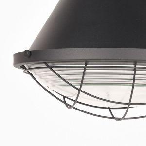 hanglamp duisburg zwart metaal 51x51x57 cm detail